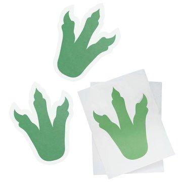 Ginger Ray Roarsome Pootafdruk Stickers  - 6 stuks - Dinosaurus Feestartikelen