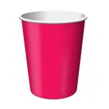 Unique Roze Bekers - 14 stuks