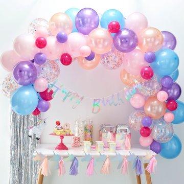 Ginger Ray Ballonboog Pastel DIY Pakket - per set - Ballonnenboog zelf maken
