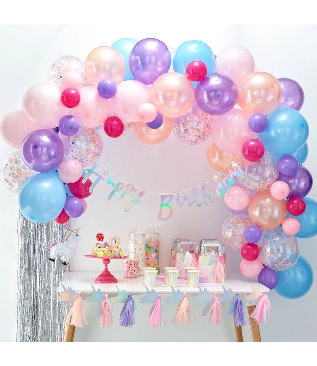 Ginger Ray Ballonboog Pastel DIY Pakket - per set - Kit om zelf een ballonnenboog te maken