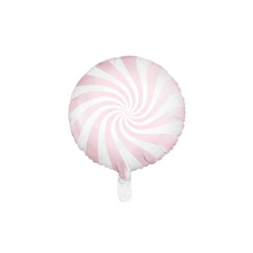 Partydeco Snoep Folieballon Roze - per stuk - Candy folieballon
