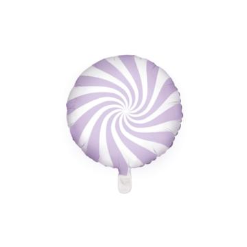 Partydeco Snoep Folieballon Lila - per stuk - Candy folieballon