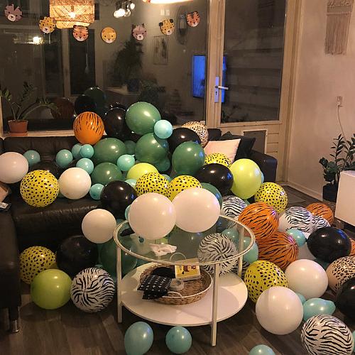 Voorbeeld 3 ballonboog maken