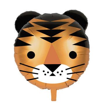 My Little Day Tijger Folieballon - per stuk - Wilde Katten