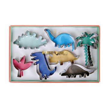 Meri Meri Dinosaurus Cookie Cutters - set van 7 uitstekers