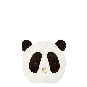 Meri Meri Panda Servetjes - 16 stuks - Panda Party