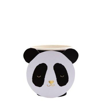 Meri Meri Panda Bekers - 8 stuks - Panda Party