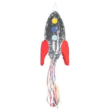 My Little Day Raket Piñata - pull pinata - voor een Cosmic Space feestje