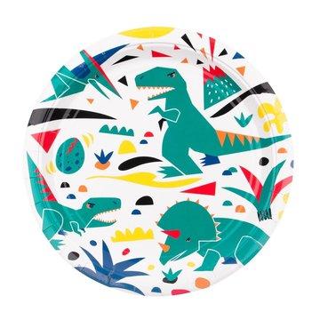 My Little Day Dinosaurus Borden - 8 stuks - Voor een dino feestje