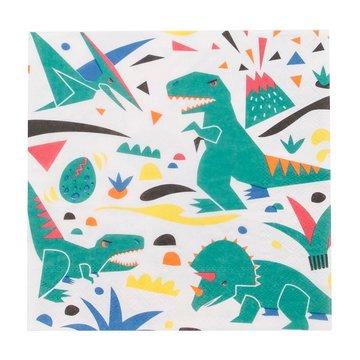 My Little Day Dinosaurus Servetten - 20 stuks - Voor een dino feestje