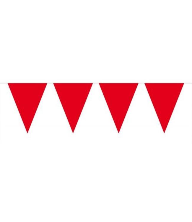Folat Vlaggenlijn Rood - 6 meter - plastic