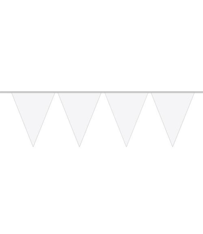 Folat Vlaggenlijn Wit - 6 meter - plastic