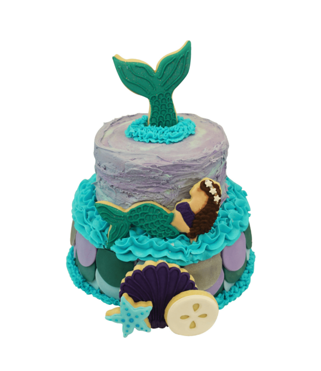 Creative Party Mermaid Cookie Cutters Kit - Set van 5 - Zeemeermin Feestartikelen