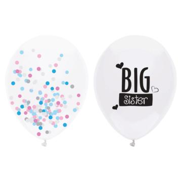 Haza Big Sister Ballon - 2 stuks - Geboorte ballonnen