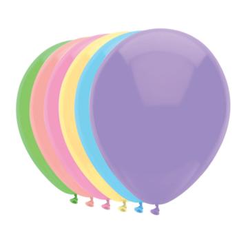 Haza Pastel Ballonnen - 10 stuks - Assorti