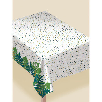 Amscan Tafelkleed Tropical - per stuk - Tafelkleed met tropische bladeren