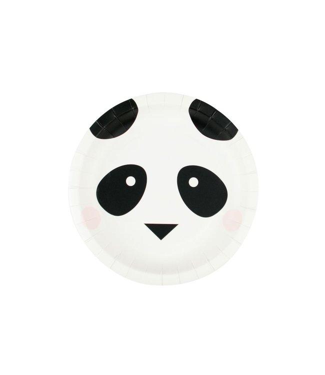 My Little Day Mini Panda Bordjes - 8 stuks - Feestartikelen voor een panda feestje