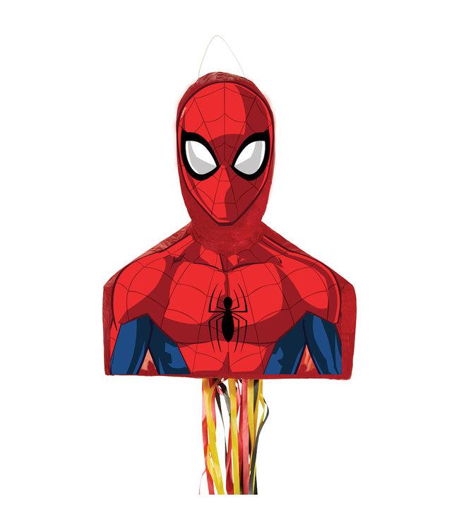 Amscan Spider-Man Piñata - per stuk - Superhelden (pull) pinata