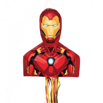Amscan Iron Man Piñata - per stuk - Superhelden (pull) pinata