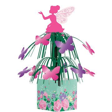 Creative Party Fairy Centerpiece - per stuk - Floral Fairy Sparkle voor een feeën feestje
