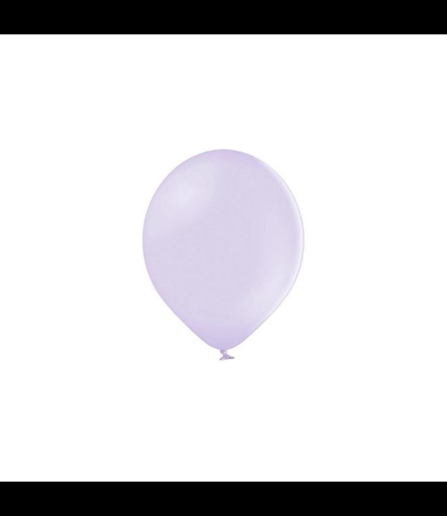Partydeco Ballonnen Pastel Lila (Klein) - 100 stuks - 12 cm - Pastel ballonnen