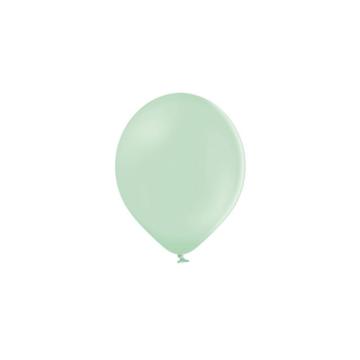 Partydeco Ballonnen Pastel Pistache Groen (Klein) - 100 stuks - 12 cm - Pastel ballonnen