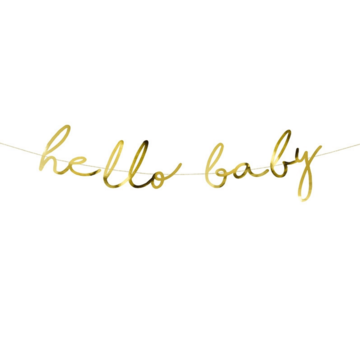 Partydeco Hello Baby Slinger - per stuk - Twinkle Twinkle Little Star