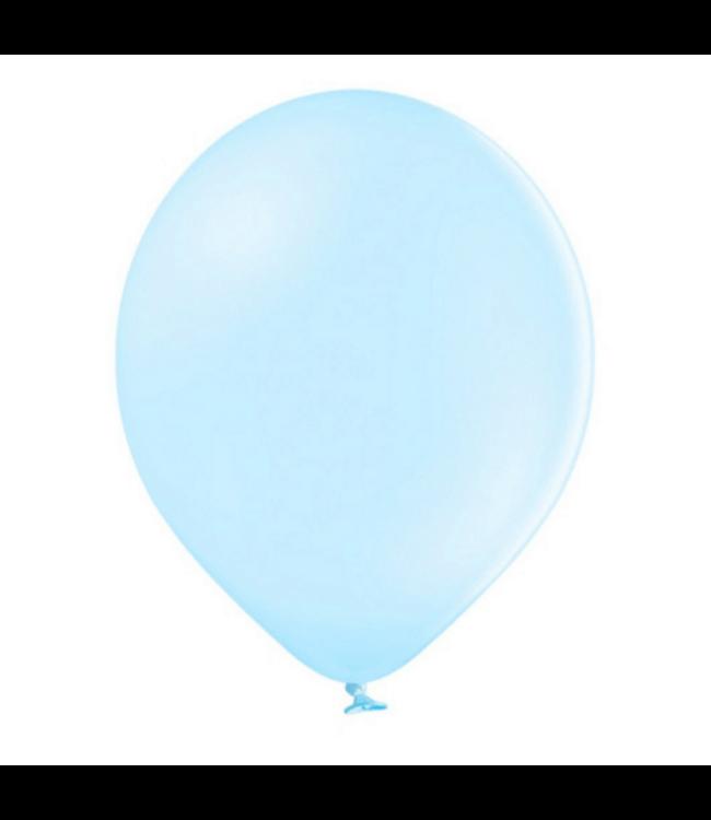 Partydeco Ballonnen Pastel Blauw - 10 stuks - 30 cm - Pastel ballonnen