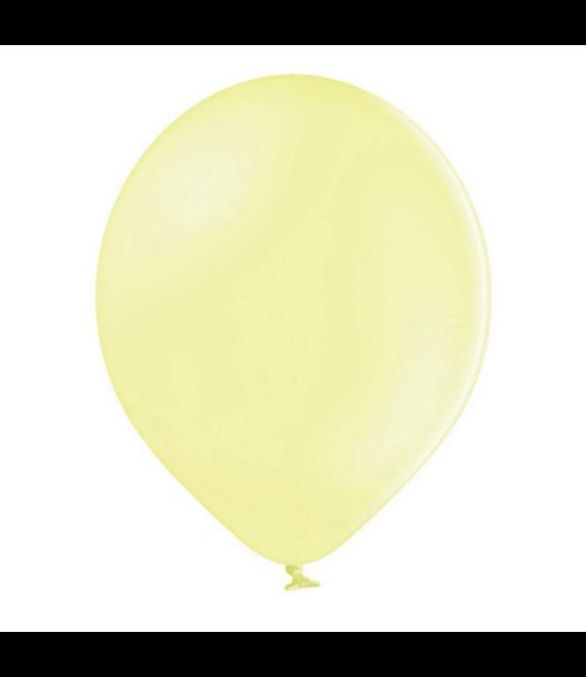 Partydeco Ballonnen Pastel Geel - 10 stuks - 30 cm - Pastel ballonnen