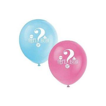 Unique Boy or Girl Ballonnen - 8 stuks - 30 cm