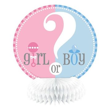 Unique Boy or Girl Centerpieces - 4 stuks -15 cm