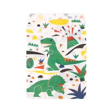 My Little Day Dinosaurus Zakjes - 10 stuks - Uitdeelzakjes voor een dino feestje