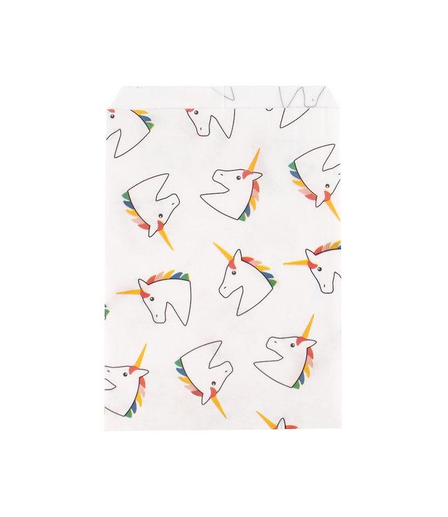 My Little Day Eenhoorn Zakjes - 10 stuks - Uitdeelzakjes voor een unicorn feestje