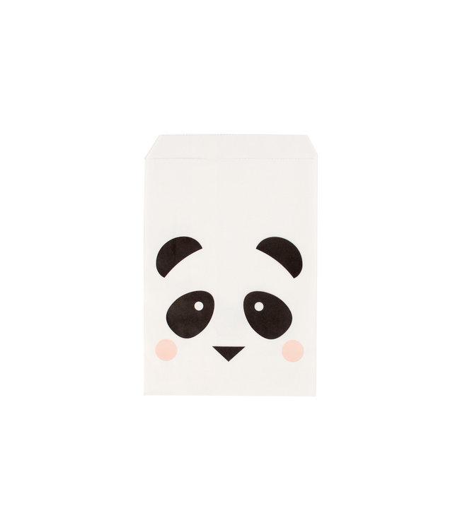 My Little Day Mini Panda Zakjes - 10 stuks - Uitdeelzakjes voor een panda feestje