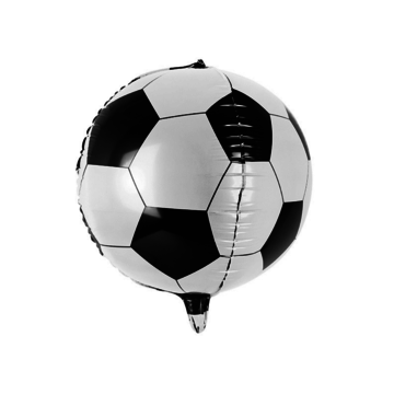 Partydeco Voetbal Folieballon - per stuk - Voetbal feestartikelen