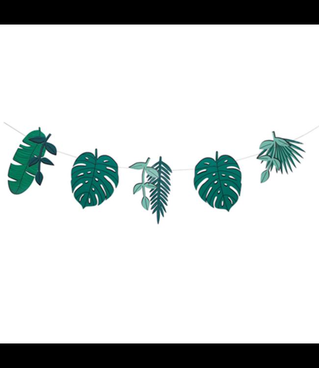 My Little Day Tropical Slinger - per stuk - Monstera en Palmbladeren