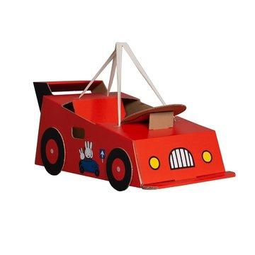 Mister Tody Auto Nijntje (Miffy) - per stuk - Mister Tody kartonnen speelgoed
