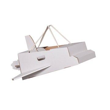 Mister Tody Raket Inkleur - per stuk - Mister Tody kartonnen speelgoed