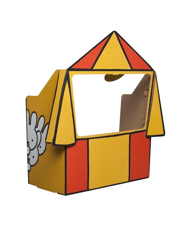 Mister Tody Poppenkast Nijntje (Miffy) - per stuk - Mister Tody kartonnen speelgoed