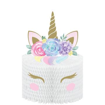 Creative Party Unicorn Centerpiece - per stuk - Eenhoorn feestartikelen en versiering