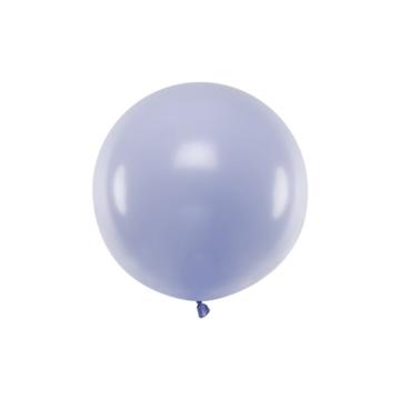 Partydeco Jumbo Ballon Pastel Lila - per stuk - Ronde ballonnen 60 cm