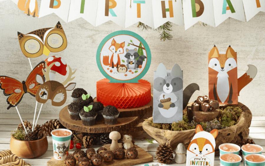 Woodland Party: Een feestje met bosdieren