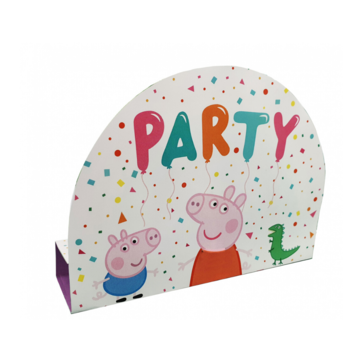 Amscan Peppa Pig Uitnodigingen - 8 stuks - Peppa Pig feestartikelen