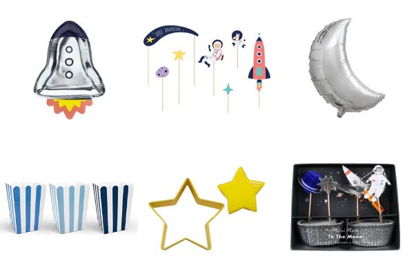 Space feestartikelen en versiering