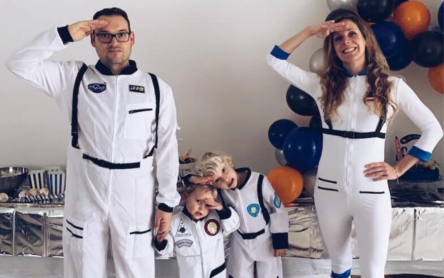 Space: Het coole astronauten verjaardagsfeestje van Lex
