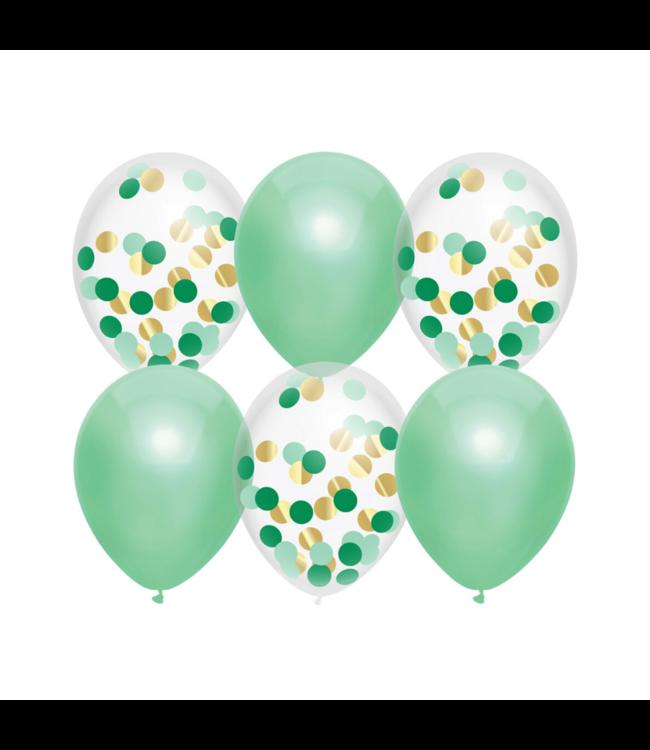 Haza Ballonnen Mix Mint - 6 stuks