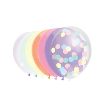 Haza Ballonnen Mix Pastel - 10 stuks