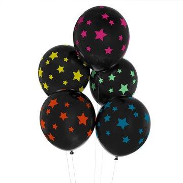 My Little Day Galaxy Sterren Ballonnen - 5 stuks - Disco Stars