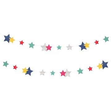 My Little Day Galaxy Sterren Slinger - per stuk - Disco Stars