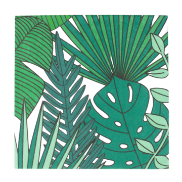 My Little Day Tropical Servetten - 20 stuks - Tropische Feestartikelen